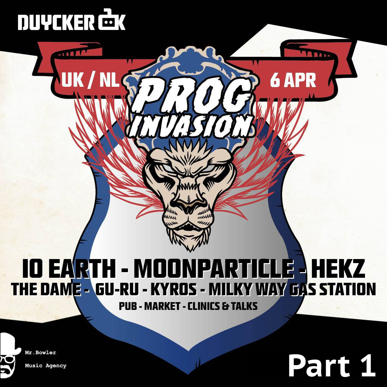 Gig Reviews: Duycker Prog Invasion Part 1