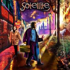 Satellite - A Street Between Sunrise And Sunset