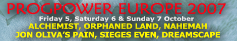 Click Banner to visit ProgPower Europe 2007 website