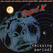 Brand X - (missing period)