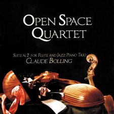 Open Space Quartet - Claude Bolling: Suite Nr. 2 for Flute and Jazz Piano Trio