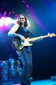 Geddy Lee - image courtesy of the official Rush website