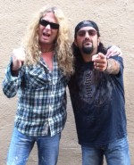 Mike Portnoy & John Sykes courtesy of Blabbermouth