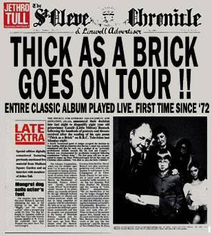 Jethro Tull European Tour