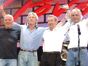 Pink Floyd at Live 8 2005