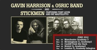 Gavin Harrison, 05Ric & The Stickmen poster