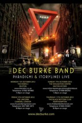 The Dec Burke Band - tour poster
