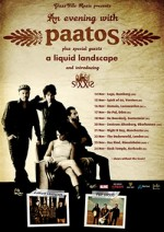 Paatos 2012 European Tour poster