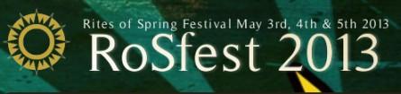 RoSfest 2013 banner