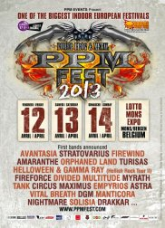 PowerProg & Metal Festival 2013 (PPM Fest) flyer