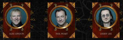 Rush ~ image from official Rush website