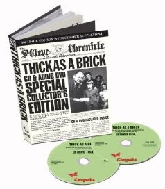 Jethro Tull ~ Thick As A Brick 40th Anniversary edition