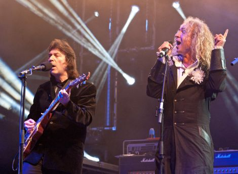 Steve Hackett and Nad Sylvan - photo credits: Martin Christgau and Bettina Dorr