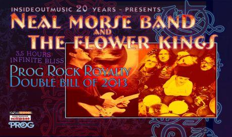 Neal Morse & TFK 2013 tour poster