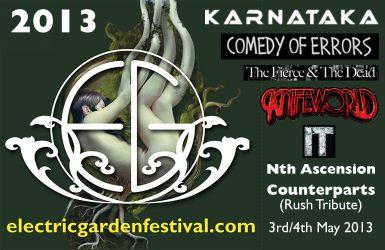 Electric Garden Festival 2013