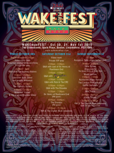 Wakemanfest Poster