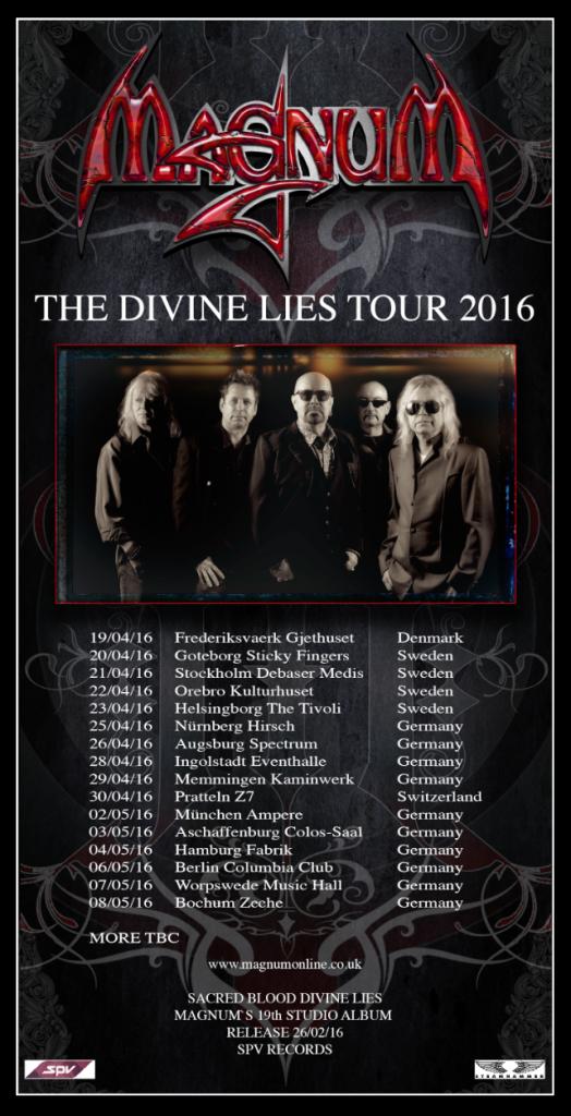 Magnum tour 2016